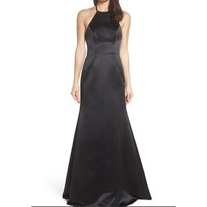 Hayley Paige 5811 black gown size 12